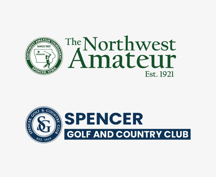 Logos - NW Am and Spencer Golf